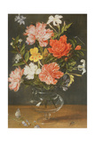 Still Life of Carnations and Other Flowers
