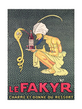 The Fakyr: Charmer and Giver of Spirit  Advertisement for 'Fakyr' Aperitif