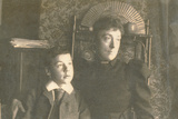 Maria Sambourne (1851-1914) with Her Son Roy (1878-1946)