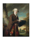 Portrait of Charles Colmore  C1760-65