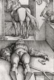 Sleeping Groom and Sorceress  1544