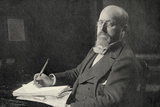 Henry James (1843-1916) in His Study