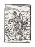 Death Comes to the Bishop  Engraved by Georg Scharffenberg  from 'Der Todten Tanz'  Published…