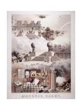 Masonic Chart  1866