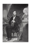 Portrait of Abraham Lincoln (1809-65)