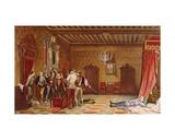 The Assassination of Henri De Lorraine (1549-88) Duc De Guise  1834