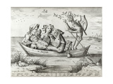The Ship of Fools  Engraved by Pieter Ven Der Heyden  1559