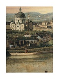 View of Vienna from the Belvedere  1759-60