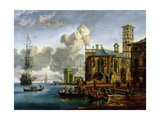Capriccio of a Mediterranean Port