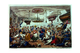 Sailors Carousing  or a Peep in the Long Room  Published by James Robins and Co  1st October 1825
