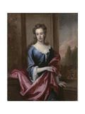 Portrait of Mary Calverley  Lady Sherard  C1696