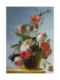 Still Life with Flowers  1753