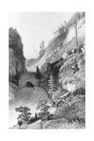 A Portage in Hoarfrost River  from 'Narrative of the Arctic Land Expedition to the Mouth of the…