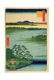 Benten Shrine  Inokashia Pond  from the Series 'One Hundred Famous Views of Edo'  1856
