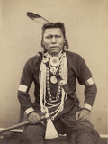 A Native American Indian  C1880-90