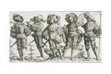 Five Mercenaries in the Thirty Years' War (1518-48)  1530