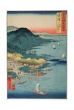Hitachi Province: Kashima Great Shrine  from the Series 'Illustrations of Famous Places in the…