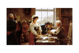 The Marriage Contract  1895