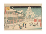 Shiba Jimmei Shrine  from the Series 'Famous Places in Edo'  1858