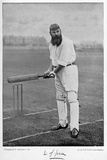 WG Grace  from 'Famous Cricketers and Cricket Grounds'  Published by Hudson and Kearns  1895