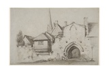 St Ann's Gate  Salisbury Close  1811