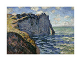 The Cliff of Aval  Etretat  1885