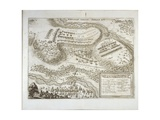 Battle of Wittstock (Dosse) on 24th September 1636  from Theatrum Europaeum  Vol III  Printed by…