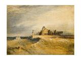 Coast Scene with Pier