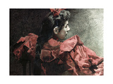 The Woman in Red  1895