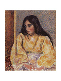 Portrait of Jeanne  C1893