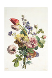 Study of a Bunch of Flowers  1817