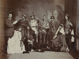 The Cast of Hamlet  Winter Gardens  Cheltenham  1895