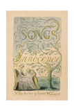 Title Page  Plate 2 from 'Songs of Innocence: Innocence'  1789