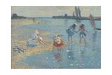Walberswick  Children Paddling  1891