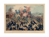 The Storming of Fort Donelson  Pub by Currier and Ives  1862