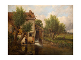 An Old Mill Near Worcester  1880