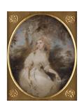 Portrait of Mrs Anna Maria Braine  Mid-1780s