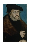 Portrait of Frederick the Wise  Elector of Saxony  C 1525-1527