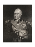 Admiral Edward Pellew  Engraved by William Holly (1807-71) from 'National Portrait Gallery …
