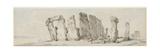 Stone 'Enge on Salisbury Plain  Eight Miles from Salisbury  1784