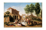 Lunch on the Field  18th Century