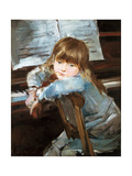 Girl before the Piano  Late C19th