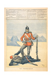 Great Britain Depicted as the 'Protector' of Egypt  Cartoon from 'Le Petit Journal'  11th…