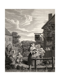 Times of the Day: Evening  from 'The Works of William Hogarth'  Published 1833