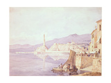 The Harbour at Genoa  1835