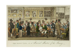 The Daffy Club  or a Musical Muster of the Fancy  Published in 1824