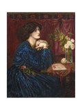 The Blue Silk Dress  1898