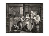 Married to an Old Maid  Plate V from 'A Rake's Progress'  from 'The Works of William Hogarth' …