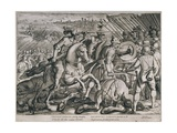 Victory of Charles V over Francis I of France in the Battle of Pavia  24th February 1525  from…