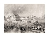 The Attack on Fredericksburg  Virginia  from 'National History of the War for the Union'  1860s